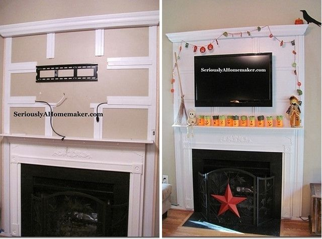 A sight for sore eyes 21 ways to hide the ugly things in for Disguise tv on wall