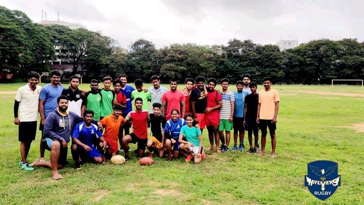 Joint fitness n game session with Karnataka Flag & American Football Association…