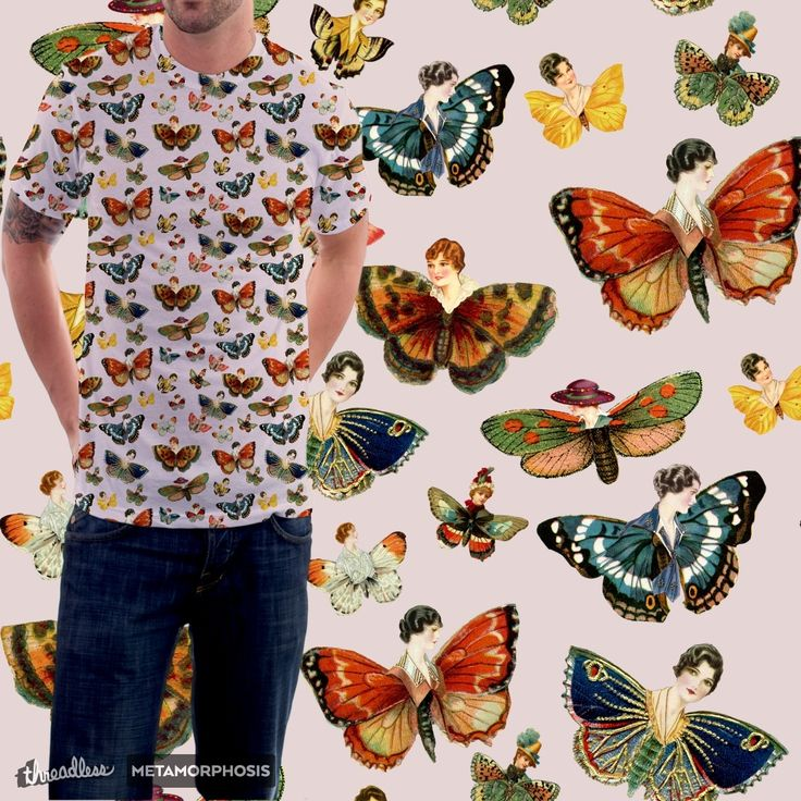 """Check out my new design submission """"lady butterflies! pat."""" on @threadless"""