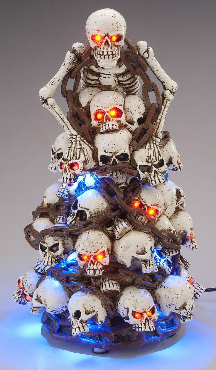Check out Haunted LED Rotating Skulls - ShopYourWay