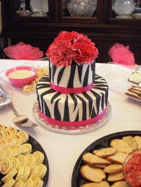 The cake from my Sex and the City themed bridal shower =) (SATC Bridal shower would be awesome!)