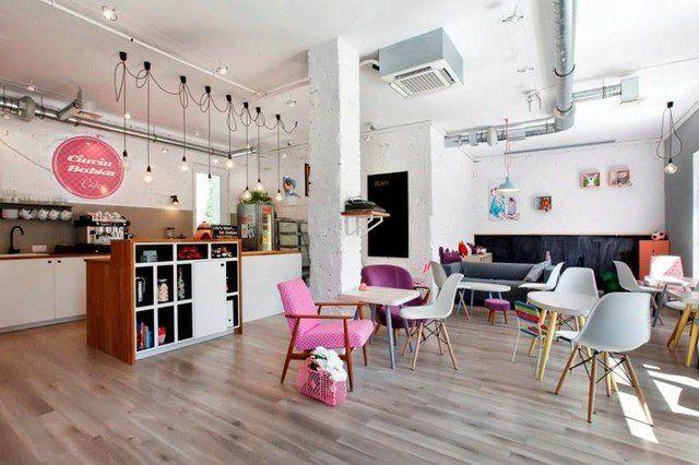 Kawiarnia CIUCIUBABKA Gdynia, Cafe Ciuciubabka in Gdynia, by Projekt drewno