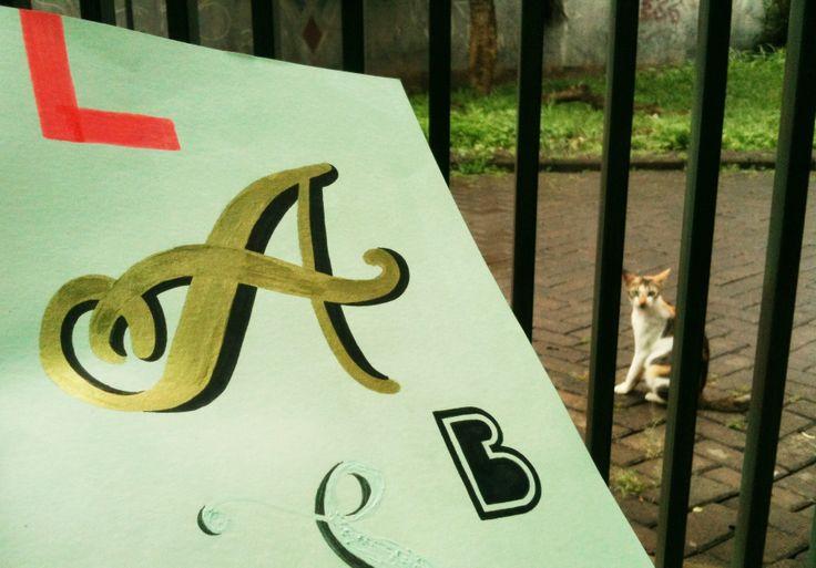 L.A.B.S #handlettering #typography #dailytype #typografi