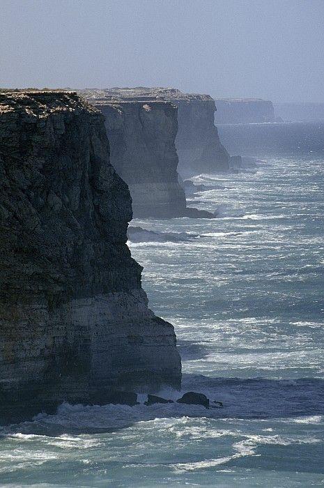 The Bunda Cliffs - South Australia; photo by Jason Edwards
