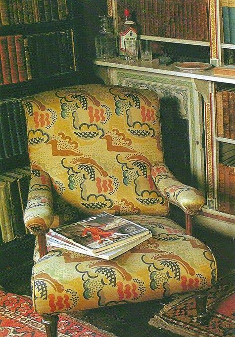 Historically Modern: Quilts, Textiles & Design: Modern Print Monday: Duncan Grant