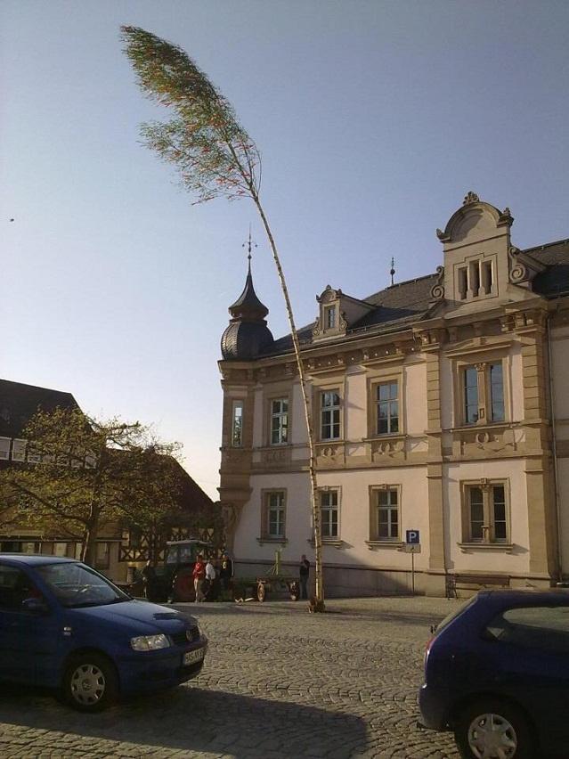 Das Rathaus von Eltmann