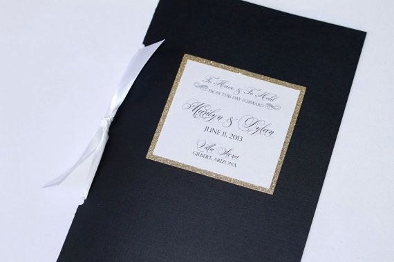 Marilyn Couture Wedding Booklet Program  by EmbellishedPaperie, $4.00