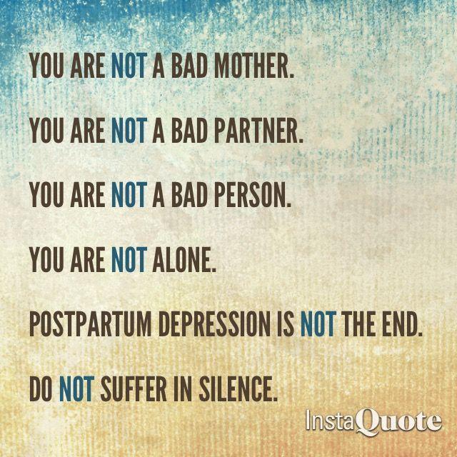 Postpartum Depression Signs of postpartum depression