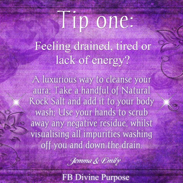 Tip 1 - More at FB DIvine Purpose