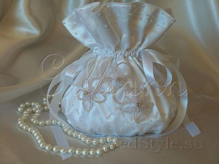 Свадебная сумочка Gilliann Нежность BAG272 #weddingbag #weddingclutch