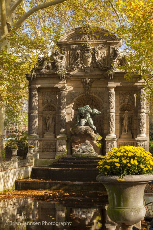 25 best images about medici fountain luxembourg gardens paris on pinterest - Fontaine jardin du luxembourg ...