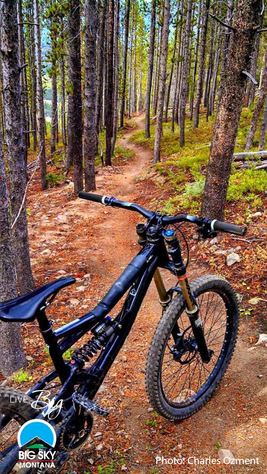 //Mountain Biking on Andesite at Big Sky Resort. Please follow us @ https://www.pinterest.com/wocycling/