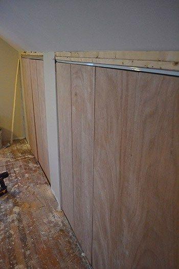 Adding Closets to Attic Knee Wall
