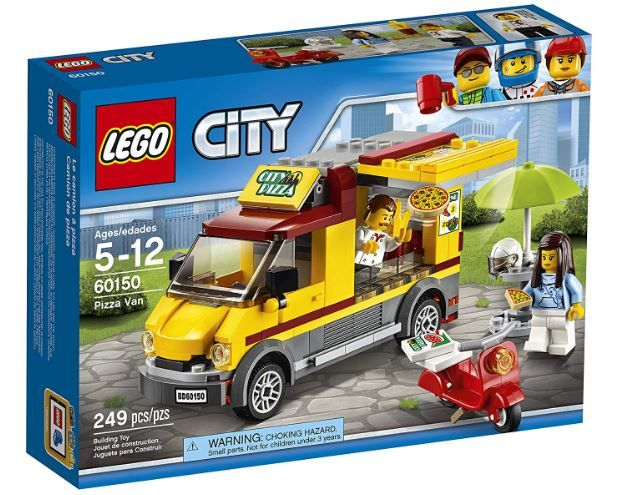 Lego City Great Vehicles Pizza Van Only 10 99 Lowest Price Become A Coupon Queen Pizza Vans Lego Pizza Lego City