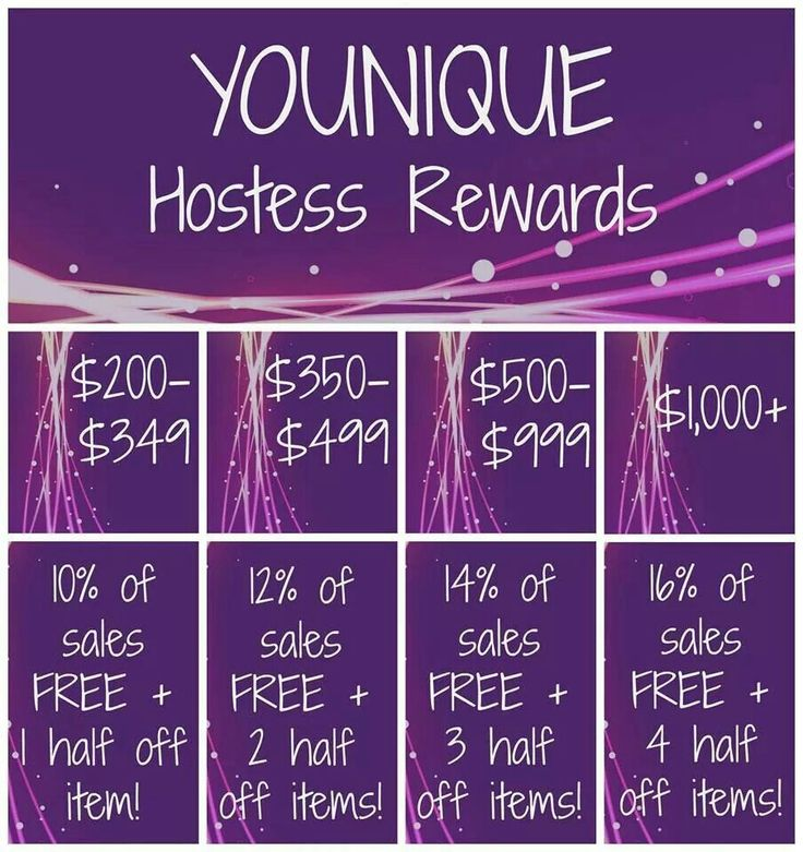 Younique Hostess Rewards - Parties are FREE and easy - I do all the work! Contact me now and lets get you some FREE makeup! LaurensLashCo@gmail.com