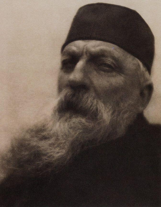 Огюст Рене Роден. Фото Alvin Langdon Coburn. Франция. 1908 г.