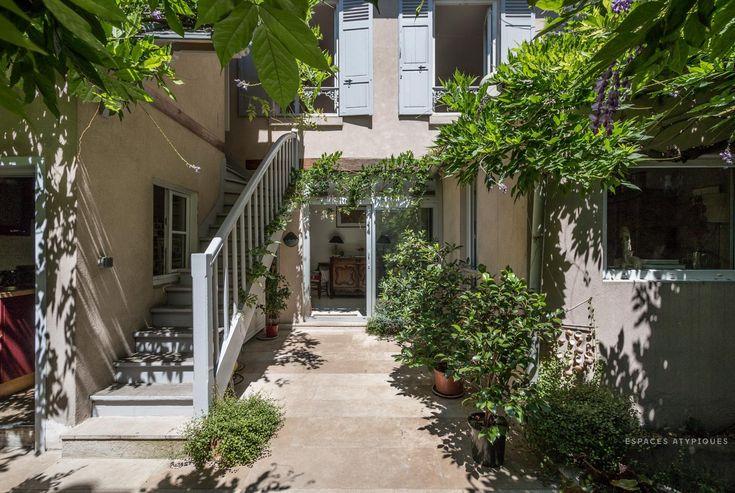 Paris 13e maison de ville avec terrasse agence ea for Agence immobiliere terrasse paris