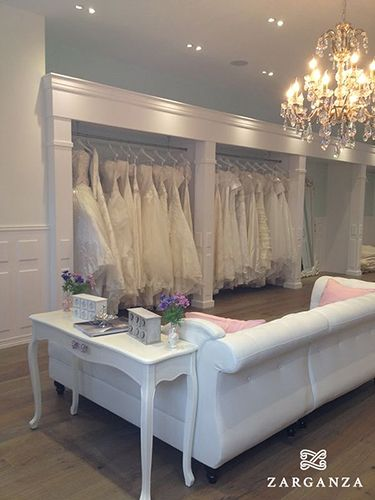 Zarganza Bridal Boutique interior