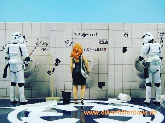 #photoshooting #photooftheday #photography #starwars #stormtrooper #toyphotography #art #funny #designs #design #movies #vibes #nikon #macro #mini #woman #giftideas