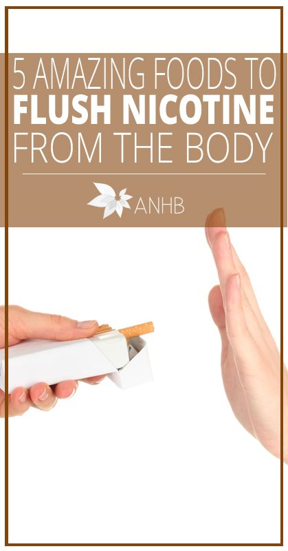 5 Amazing Foods to Flush Nicotine from the Body - All Natural Home and Beauty