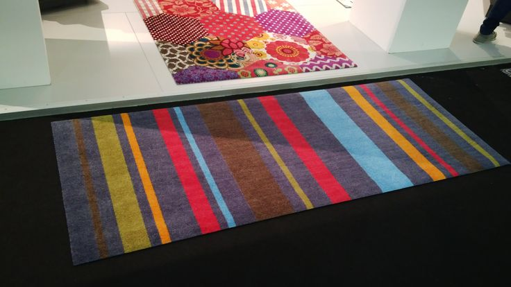 Colourful stripes - Wash+dry by Kleen-tex [#maisonobjet September 2013]