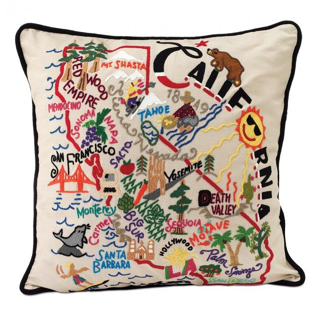 sentimental wedding gift idea: personalized pillows
