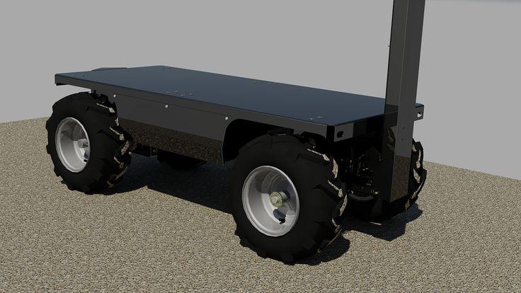 2016 Electric Motorized Utility Cart Kramble Industries