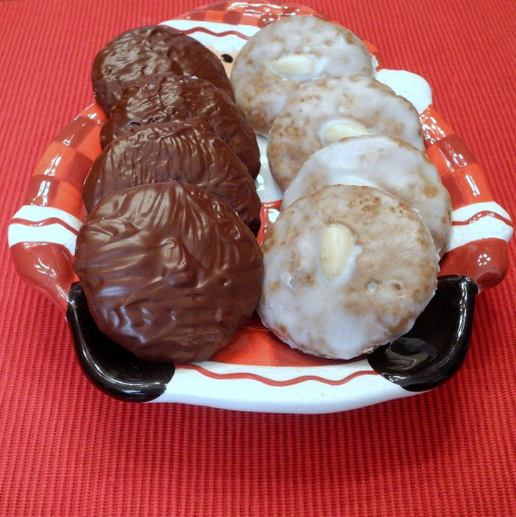 Lebkuchen is a traditional German Christmas cookie. May be ...