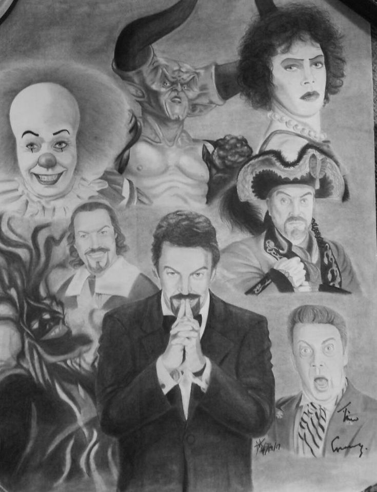 The Legend of Tim Curry (with signature) by DisneyFan-01 on DeviantArt