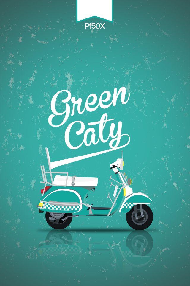 Greencaty PX150 #vespa