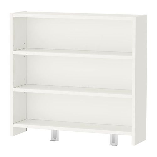 IKEA - PÅHL, Hutch, , Choose an expression to suit your home and style by turning either the green or white side of the back panel outwards.This desktop shelf makes it easy to store and display anything from pens and paper to books and toys.