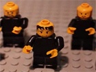The Lego All Blacks perform the haka  (Source: Supplied)