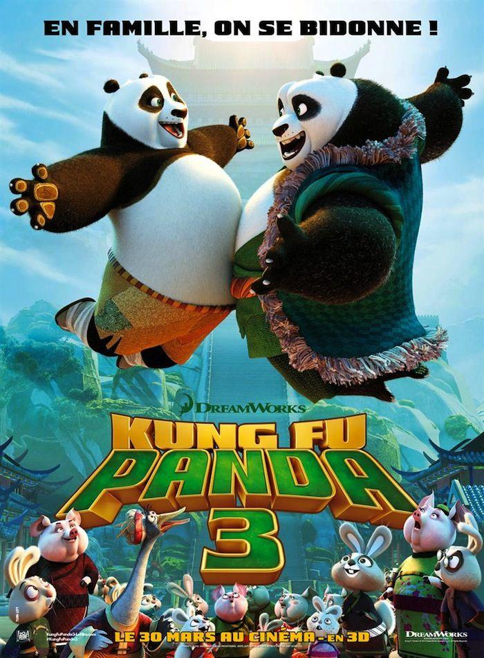 Kung Fu Panda 3 ou Le livre de la Jungle, que choisir ?