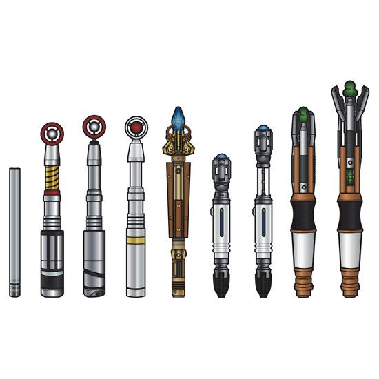 Sonic Screwdrivers  by CosmicThunder