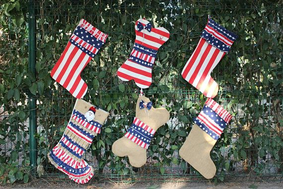 US Flag Stocking Patriotic Stockings  https://www.etsy.com/listing/559489546/christmas-stocking-usa-flag-inspired
