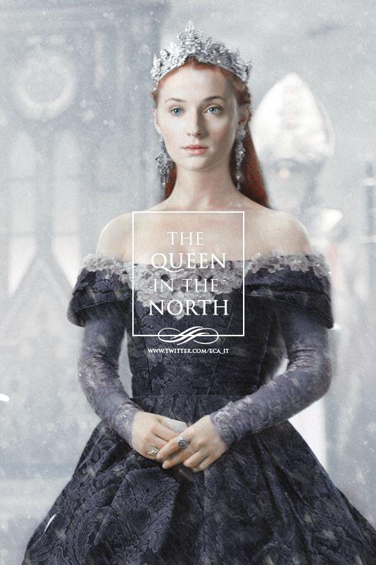 Sansa Stark, the Queen in the North