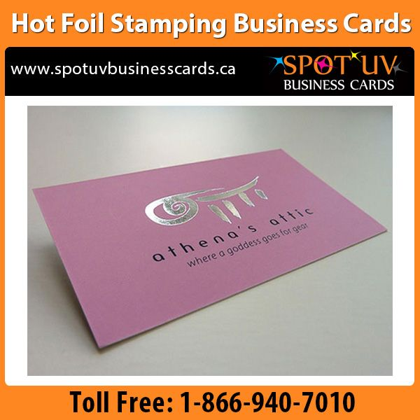 25 best hot foil stamping business cards foil stamped printing quality hot foil stamping an amazing business cards printing ideas for foil stamped metal foil reheart Image collections