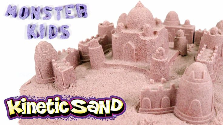 PLAYING WITH KINETIC SAND !! How To Make Sandcastles Fun! Magic Sand Toy...