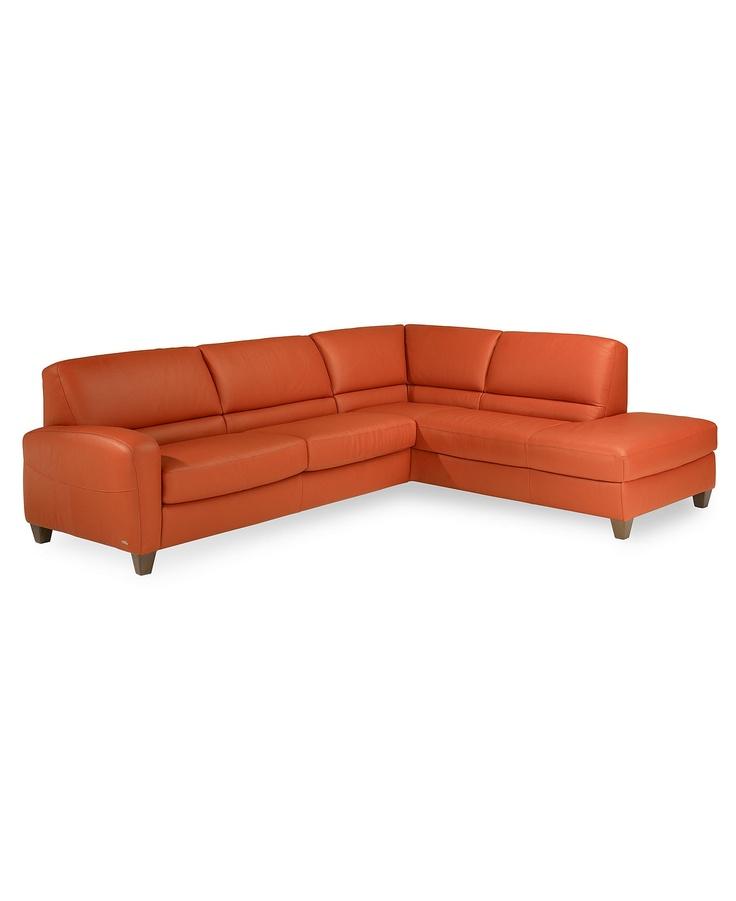 Italsofa 144 Lr Sectional Sleeper Sofa Leather