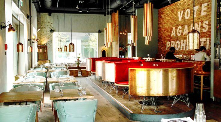 """Als """"Schwabinger Wohnzimmer"""" bezeichnet sich das deutsch-französische Restaurant La Bohème im Neubaugebiet Schwabinger Tor in München selbst."""