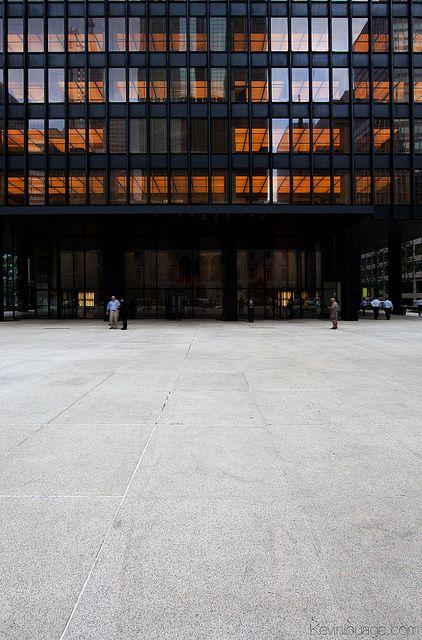 Mies van der Rohe + Philip Johnson -Seagram Building - New York, U.S. - 1958
