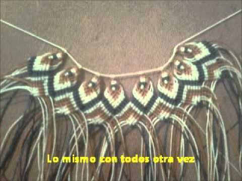 Patricia Belvedere - Bienvenidas TV en HD - Realiza un collar en nudo chino en macramé. - YouTube