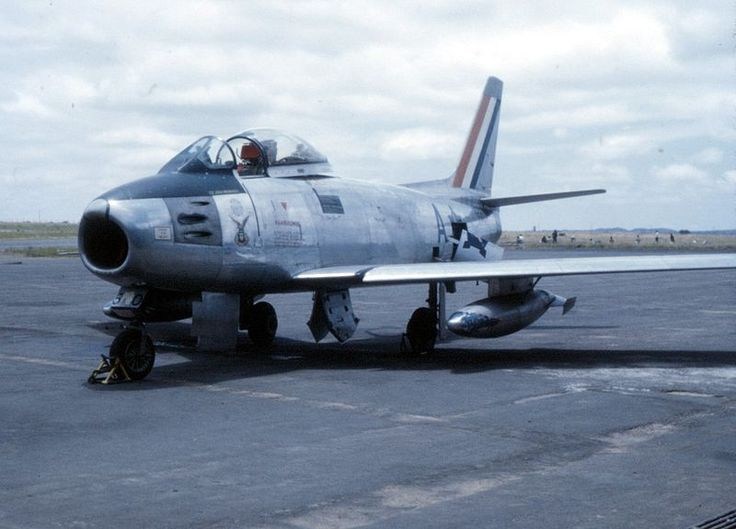 South African Air Force Sabre of 1 Squadron, AFB Pietersburg