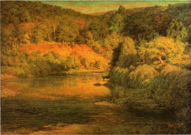 Американский художник Адамс Джон Оттис (1851–1927)