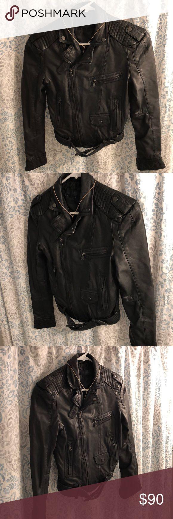 Zara Women Bomber Jacket Good condition, Black Leather Bomber Jacket Zara Jackets & Coats Utility Jackets