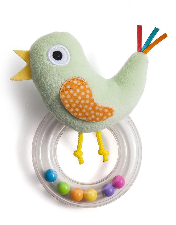 cheeky chick rattle by taf toys http://www.taftoys.com/tafproduct/cheeky-chick-rattle-12055/