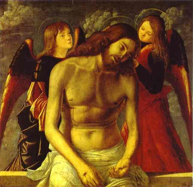 Vittore Carpaccio - The Dead Christ Supported by Angels (1502)