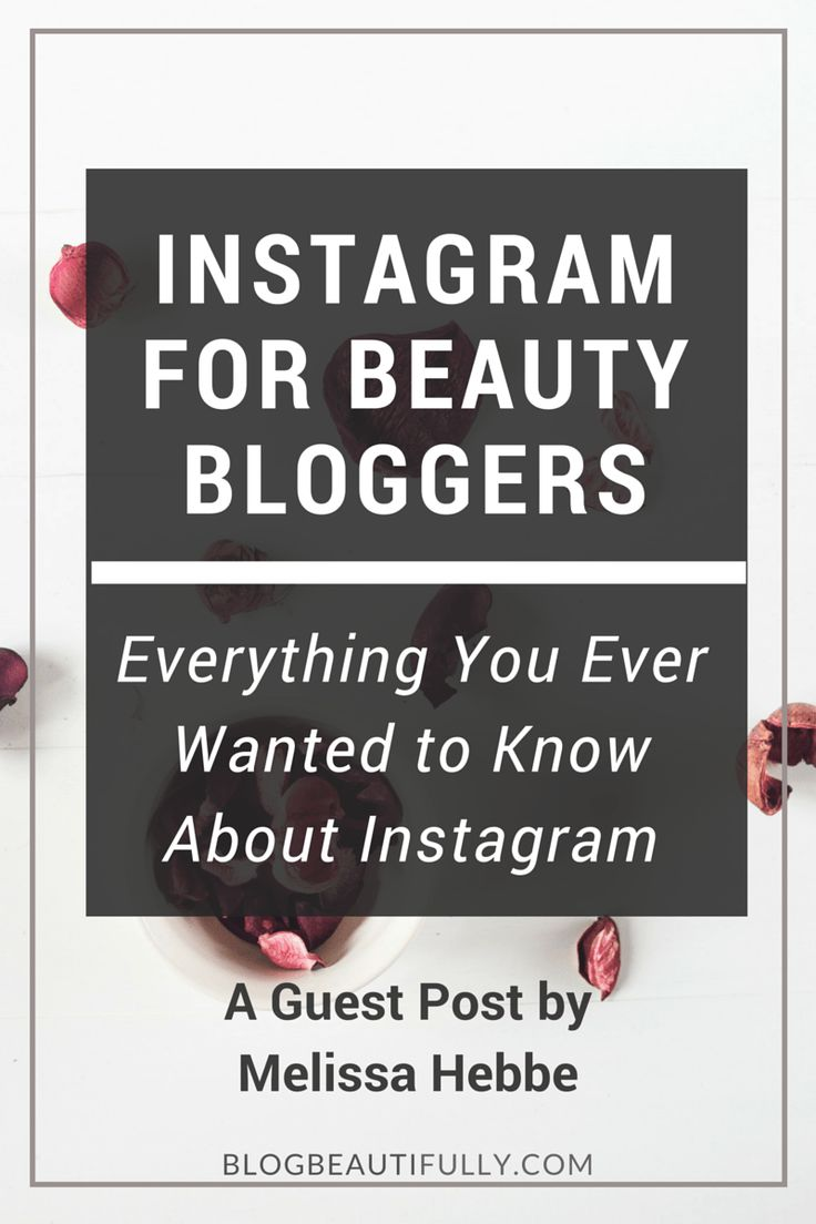 Not sure how to use Instagram for your beauty blog? In this guest post, social media expert Melissa Hebbe shares her top Instagram tips for beauty bloggers, including which hashtags to use, how to schedule posts, and how to design the perfect bio. Click through to read more! BlogBeautifully.com