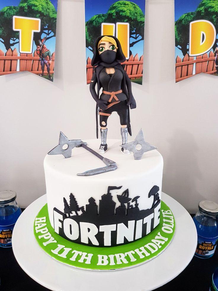 Fortnite Geburtstagstorte   – birthday
