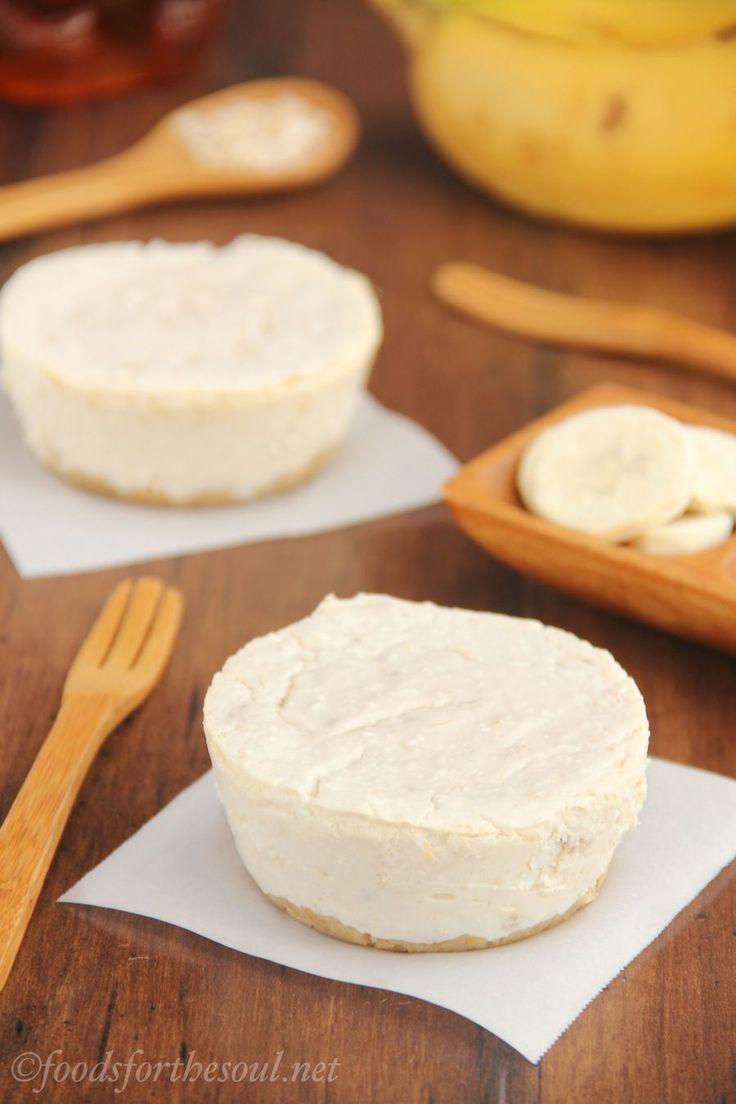 Cheesecake de banano